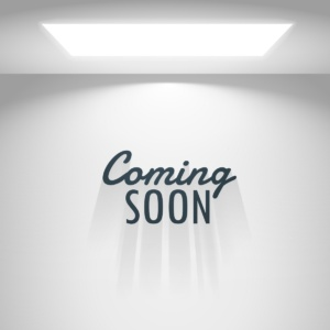 white room with light and coming soon text